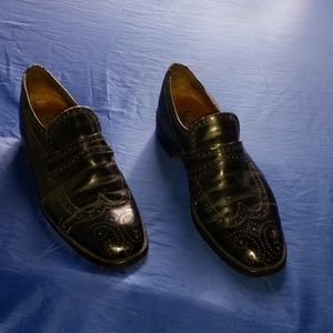 BALLY SUISSE INTERNATIONAL DRESS SHOES SIZE 9.5E